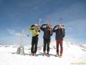 Počasitev dneva OF na vrhu Geigerja (3360m).