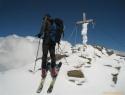 Na vrhu Spielmanna (3027m).