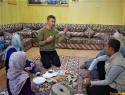 Pred goro pa zajtrk pri Batiju doma v Al Hamri.