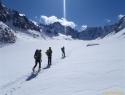 Na ledeniku Argentiere.