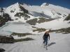 45 min. vzpona mimo zgornjega Schwarzhornovega jezera na Schwarzhorn.