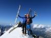 Na vrhu Ankogla - zadnji v letošnji sezoni.