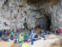 Grotta dell Arenauta ob dežju.