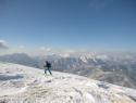 Pogled z vrha proti Kamniškim.