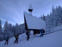 Na Veški planini smo pozvonili za dolgo in pršičasto zimo.