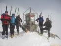 Musala 2925m (Rila) – najvišji vrh Balkana.