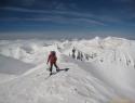 Na vrhu Poležana 2850m.