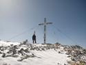 Na vrhu – Hoher Gjaidstein 2794m.