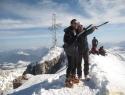 Tam smo mi doma (na vrhu Dachsteina 2996m).