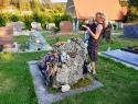 Obisk groba plezalne legende Wolfganga Gullicha v Obertrubachu.