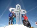 Na vrhu že spet nov križ – v zadnjih nekaj letih že ta tretji.