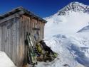 Bivak na sedlu Peischlachtorl, 2490 m.