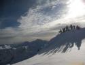 Na vrhu Griedelkopfa (2659m).
