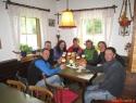 Na piru v Gmünderhütte z Oberlercher ekipo.