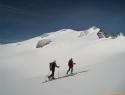 Na ledeniku Hochalm.