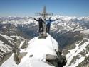 Na vrhu kraljice Visokih tur (3360m).