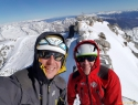 Gipfelfoto, 3360 m.