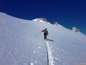 Na ledeniku Hochalmkeese.