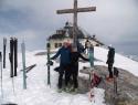 2941 m, koča Matrashaus v ozadju.