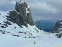 V spodnjem delu kraljuje Torsaule, 2588 m.