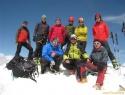 Skupinska na vrhu (3453m).