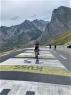 Na slavni Col de Tourmalet v Haute Pyrenees.