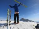 Turna zadnjica na vrhu Kanjavca, na katerega smo se povzpeli iz Zadnjice.  Fotka za naše Parencana bajkerje.