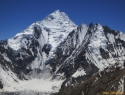 Še ne preplezan Double peak, 6700m.
