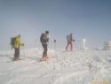 Petkov prihod na vrh Kordeževe glave.