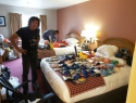 Nakup hrane in opreme v Anchorageu.