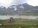 Prelaz Bernina – zadnjo MTB turo sva izvedla v sosednji Švici.