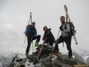Na vrhu (2933m).