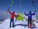 Korab 2764m - najvišji vrh Makedonije in Albanije.