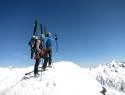 Na vrhu Srednjega Malhamspitza 3364m.