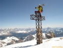 Na najvišjem vrhu Dolomitov (3343m) + 2m!