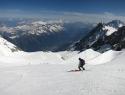 Visoko nad Chamonixom.