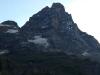 Na levi, JZ oz. Levji greben - Cresta del Leone.