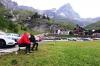 Francov tradicionalni golaž za alpske ture na štartu v Cervini-i.