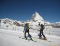 Štart na Trockener Steigu, namesto na Kl. Matterhornu.