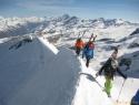 Na vrhu Castorja 4221m.