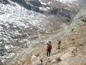 3 urni sestop nazaj v Zermatt.