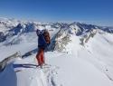Na vrhu Cime Venerocolo (3300m).