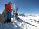 Na vrhu Monte Venezia (3290m).