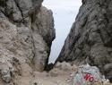 Trbiška škrbinica, 2240 m.
