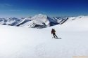 Na ledeniku Bockkarkees.