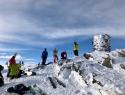 Na vrhu Stormheimfjelleta (1181 mnv).
