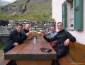 Zaslužen pirček na poti v Zermatt.