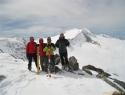 Skupinska na predvrhu (3051m) – Iča prvič čez 3 jurje.