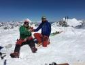 Pirček na vrhu (3703m).