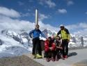 Najvišji Đakuzi v Alpah - pred Berghotelom Diavolezza.